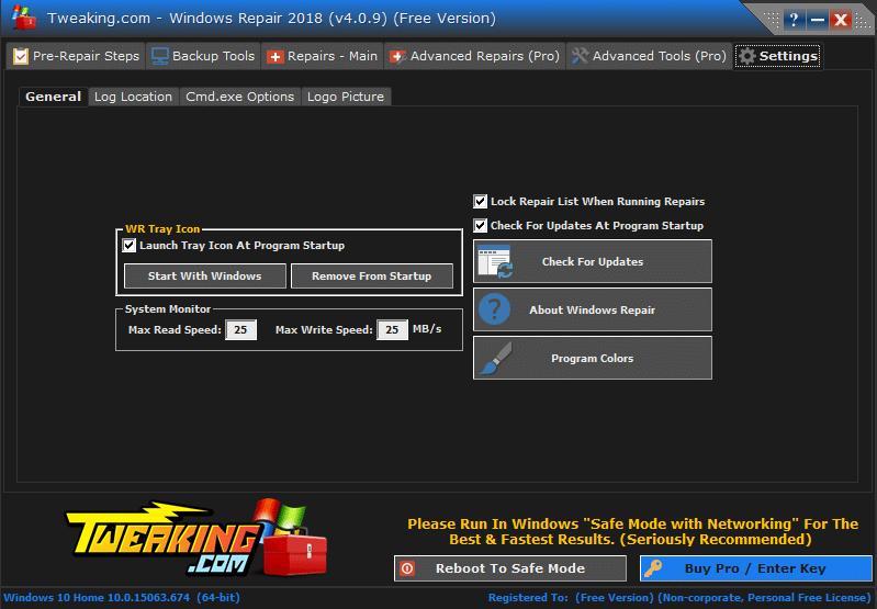 Windows Repair Free tutoriel sospc.name 13