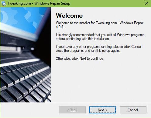 Windows Repair Free tutoriel sospc.name 1