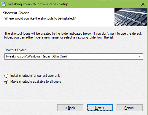 Windows Repair Free tutoriel sospc.name 2