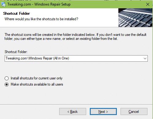 Windows Repair Free tutoriel sospc.name 2
