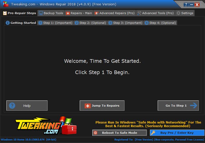 Windows Repair Free tutoriel sospc.name 5