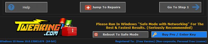 Windows Repair Free tutoriel sospc.name 7