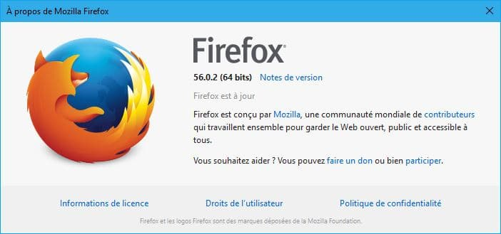 Firefox 57 téléchargement 2