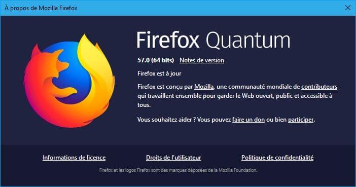 Firefox 57 64 bits