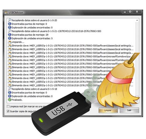 Logiciel en bref : USB Oblivion, nettoyez toutes les traces de vos périphériques USB.
