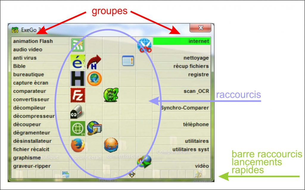 Exego applications depuis le bureau tutoriel sospc.name 2