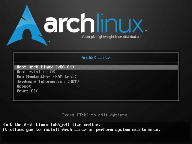 Archex, une nouvelle version avec 4 environnements