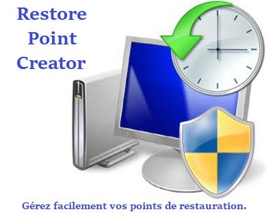 Logiciel en bref : Restore Point Creator.