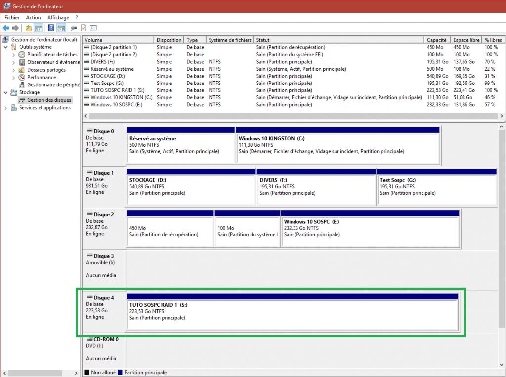comment paramétrer le raid 1 tutoriel capture 16 sospc.name