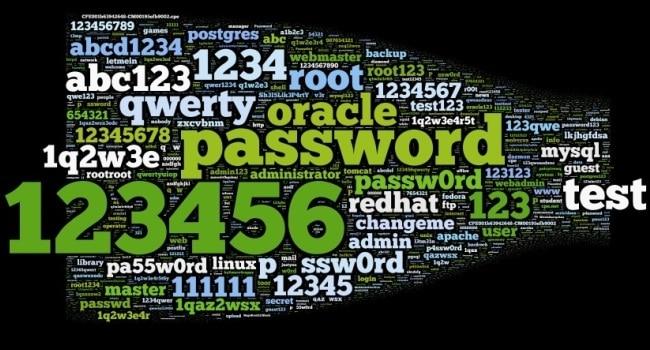 Savez-vous quels ont été les pires mots de passe de 2017 ?