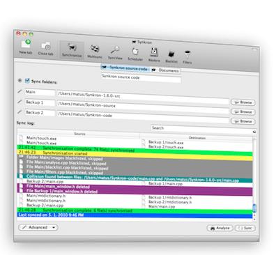 Synkron, un logiciel de synchronisation de sauvegardes à découvrir, par Thierry.