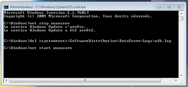 bug avec Windows Update, la solution sospc capture 13