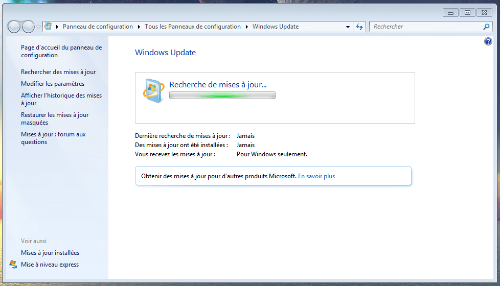 bug avec Windows Update, windows 7 la solution sospc.name 2