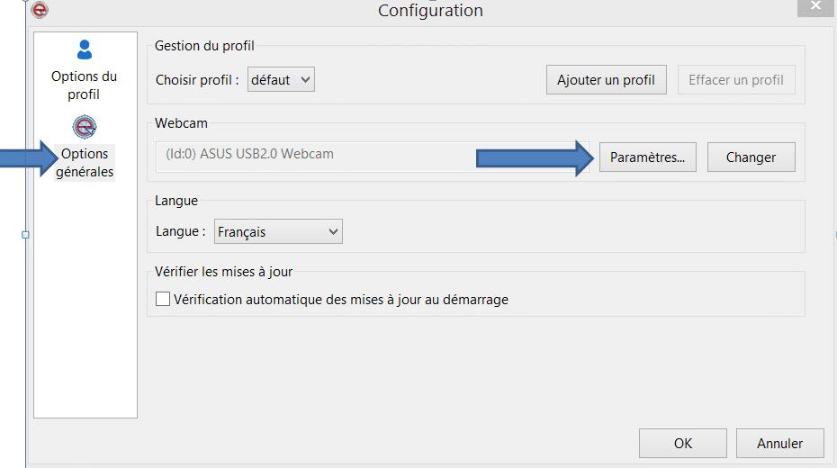 eViacam : accédez à votre PC sans souris sospc.name tutoriel 12