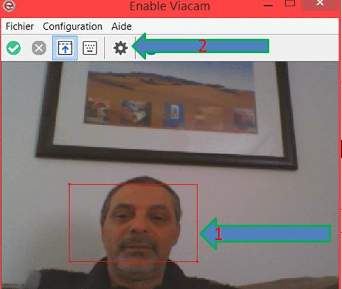eViacam : accédez à votre PC sans souris sospc.name tutoriel 3