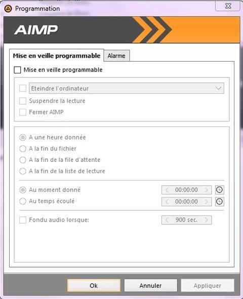 AIMP: un excellent lecteur audio tutoriel utilisation capture 6