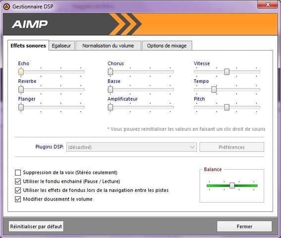 AIMP: un excellent lecteur audio tutoriel utilisation capture 7
