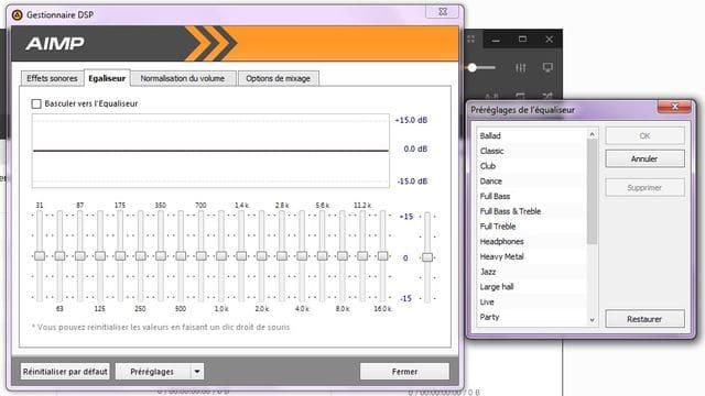 AIMP: un excellent lecteur audio tutoriel utilisation capture 8
