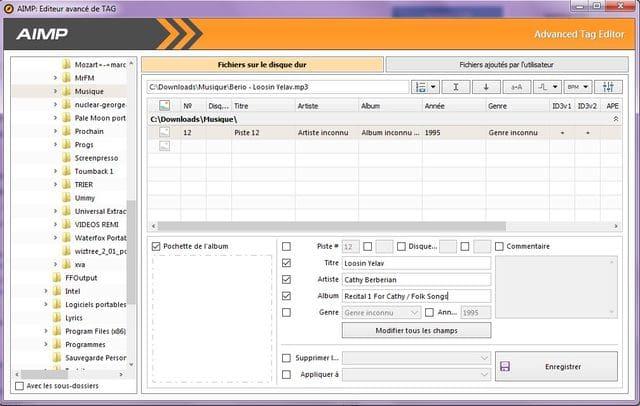 AIMPlecteur audio tutoriel sospc.name a