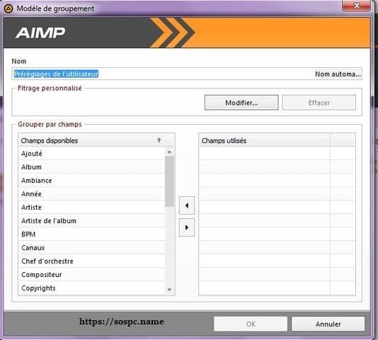 AIMPlecteur audio tutoriel sospc.name g
