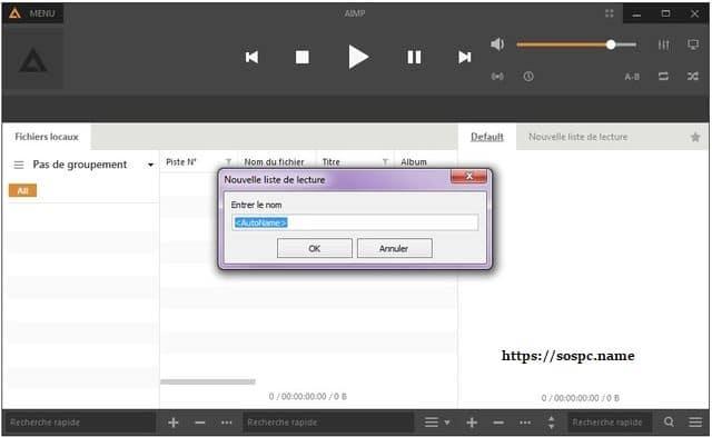 AIMP: un excellent lecteur audio tutoriel utilisation capture 3