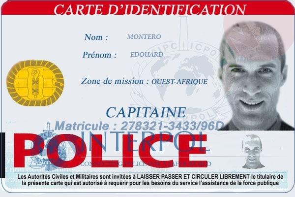 carte identité usurpateur edouard montero