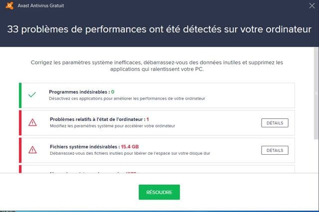 Avast : un Antivirus ou un Outil d'optimisation