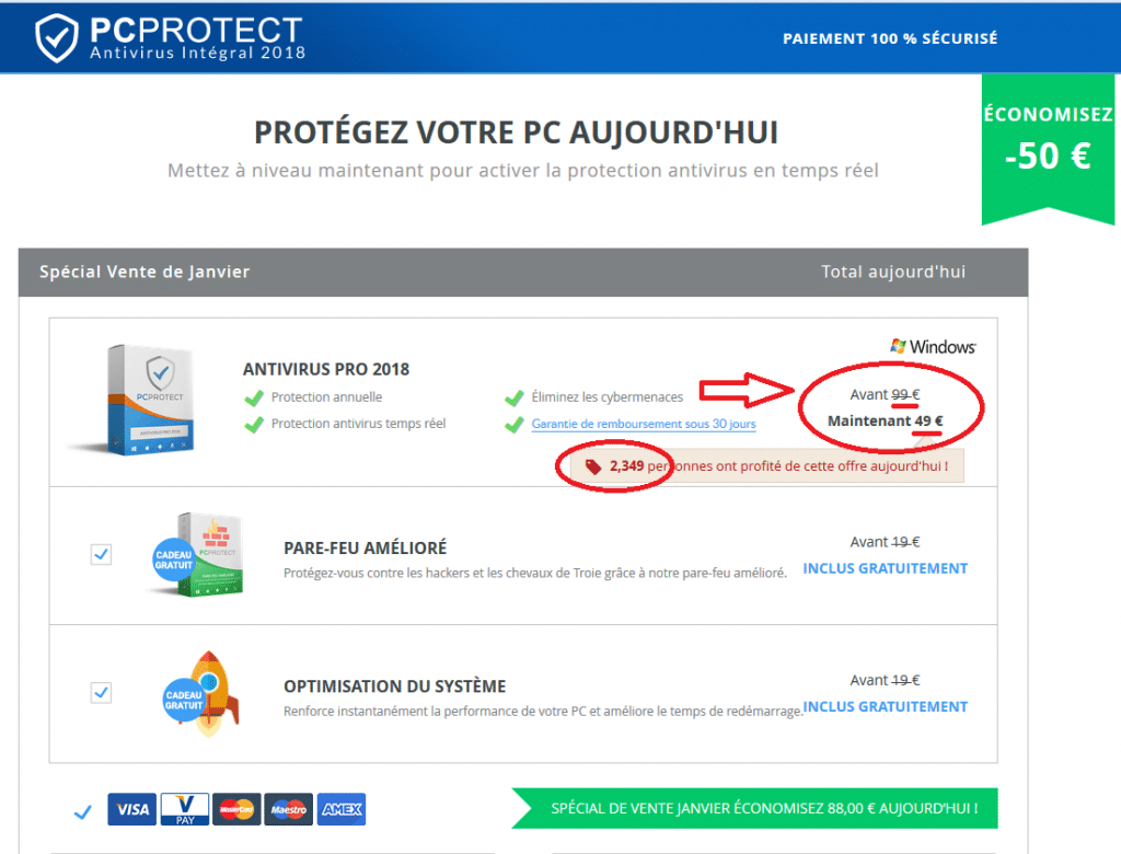 Antivirus attention arnaques sospc.name 4