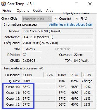 Core Temp TUTORIEL PAS A PAS
