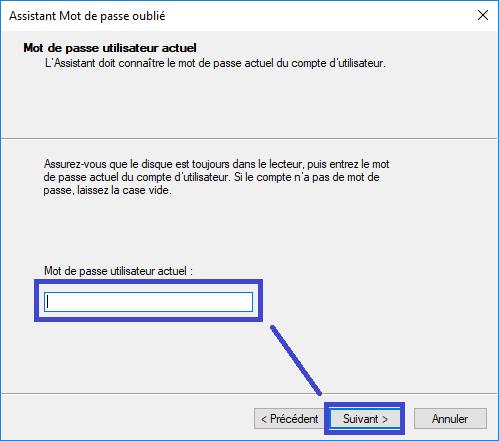 créer une Clé USB de réinitialisation du mot de passe sospc.name tutoriel capture 3