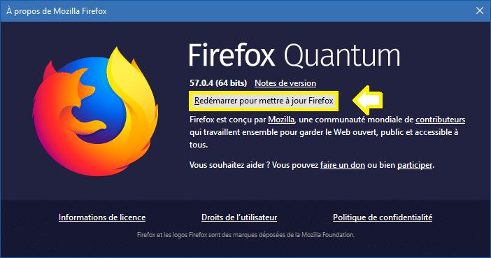 Firefox 58 téléchargement sospc.name