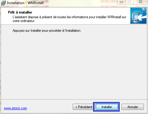 Installer Windows Mail tutoriel complet. sospc.name capture 6