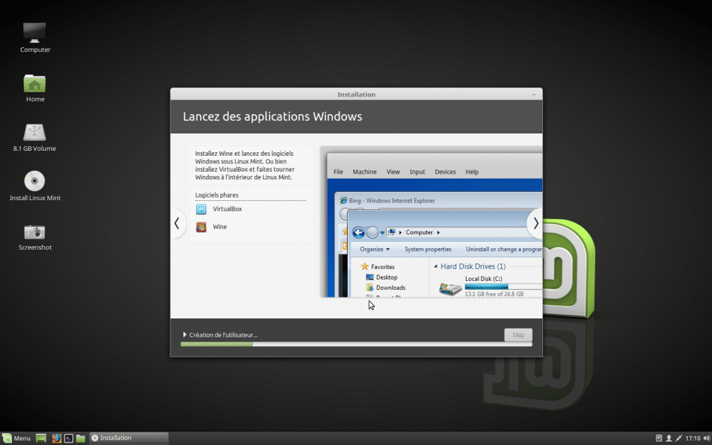Installer un dual boot Windows et Linux, tutoriel 7