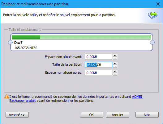 Aomei Partition Assistant tutoriel sur sospc.name 3