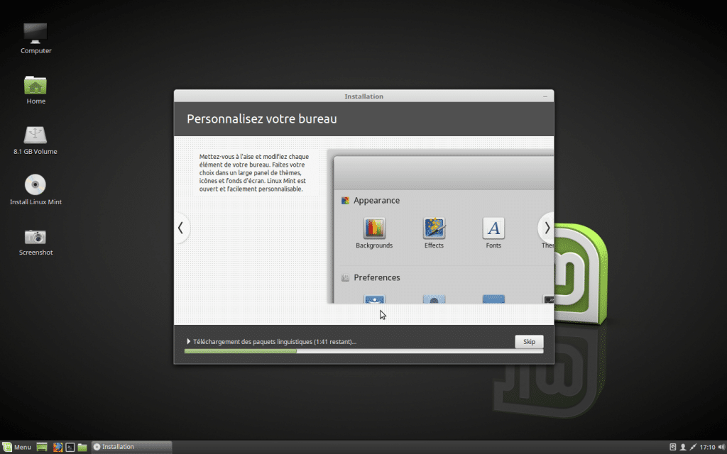 Installer un dual boot Windows et Linux, tutoriel 8
