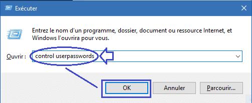 créer une Clé USB de réinitialisation du mot de passe sospc