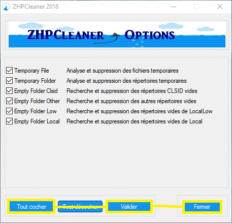 ZHPCleaner 2018. sospc.name tutoriel