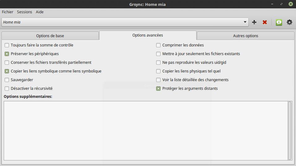 Sauvegarder vos données sous Linux. Tutoriel linux. Sospc.