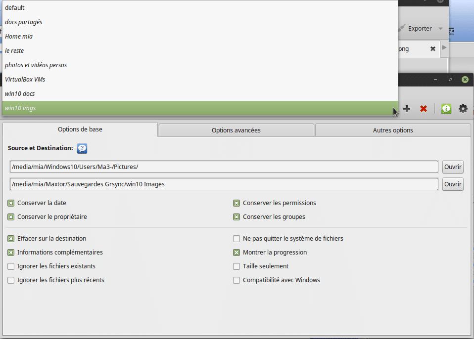 Sauvegarder toutes vos données sous Linux. Tutoriel linux. Sospc.