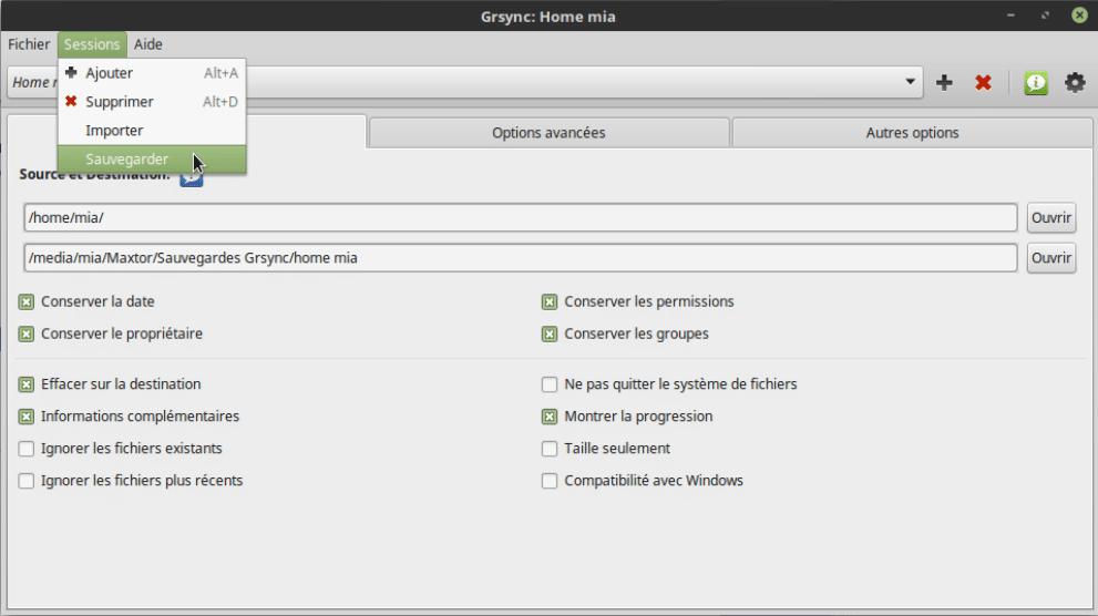 comment sauvegarder toutes vos données sous Linux. Tutoriel linux. Sospc.name