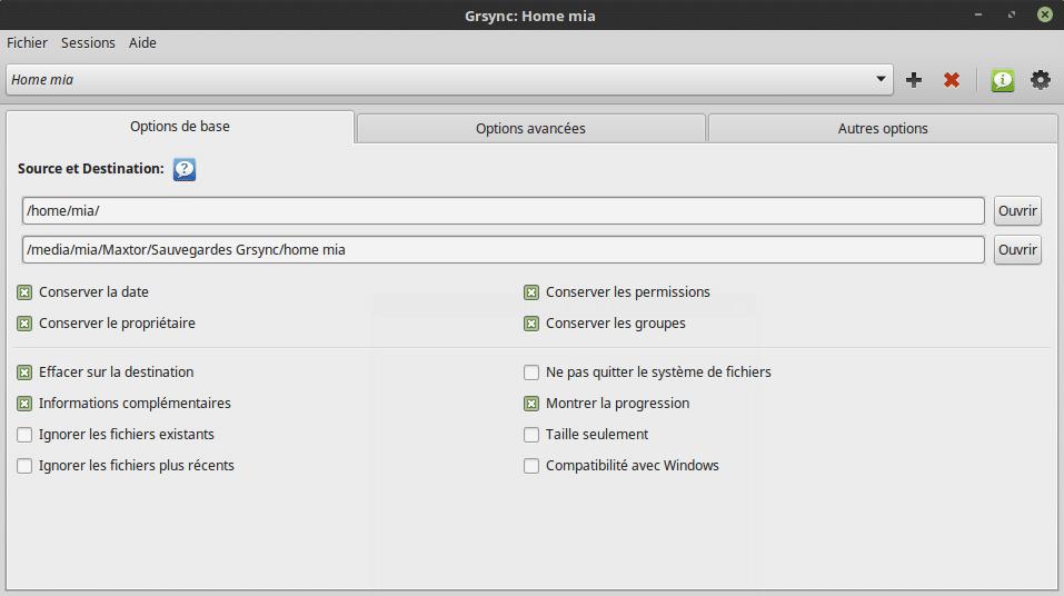 Sauvegarder vos données sous Linux. Tutoriel linux