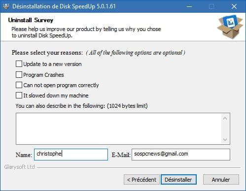 Disk Speedup télécharger