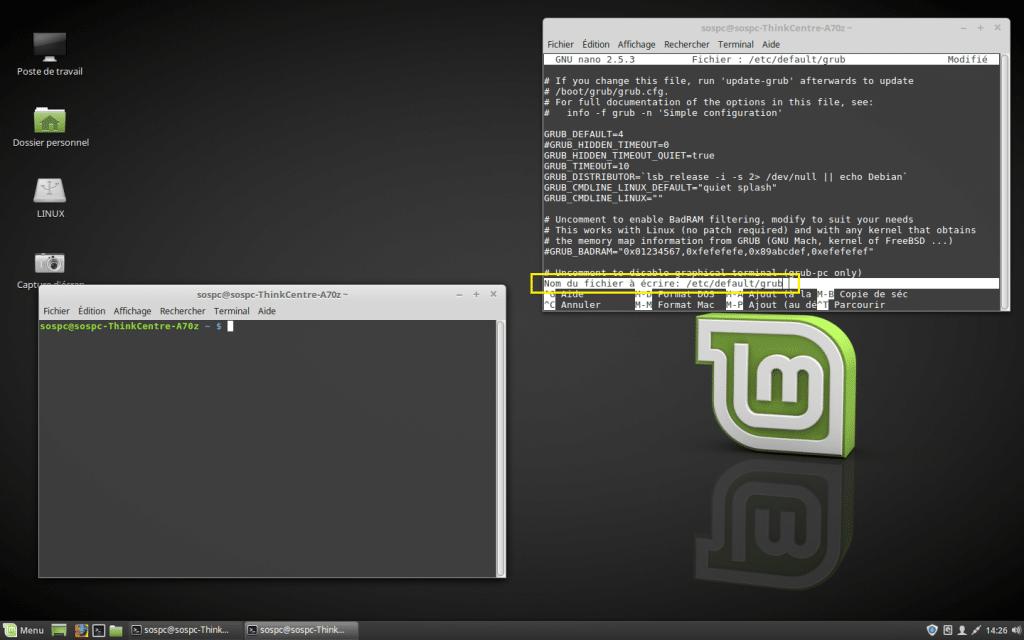 Dual Boot Windows / Linux changer priorité Os démarrage par défaut. Tutoriel COMPLET.