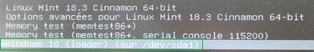 Windows / Linux modifier Os démarrage dual boot par défaut. tutoriel facile à comprendre.