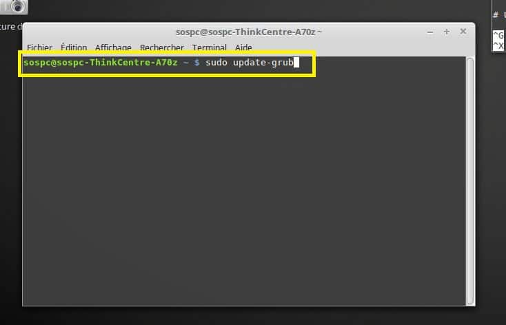 Windows / Linux modifier Os démarrage dual boot par défaut. tutoriel.