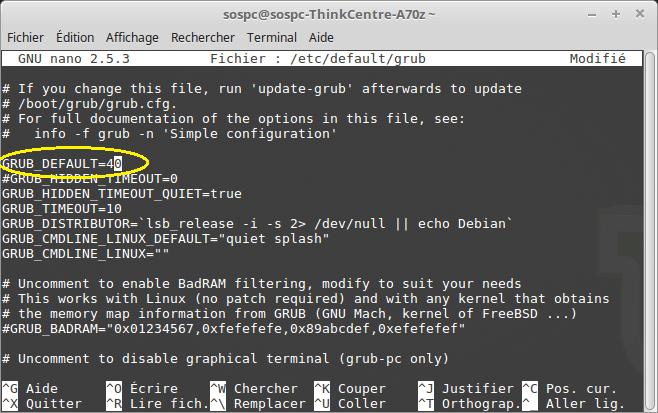 Dual Boot Windows / Linux changer priorité Os démarrage par défaut. Tutoriel. Sospc.name