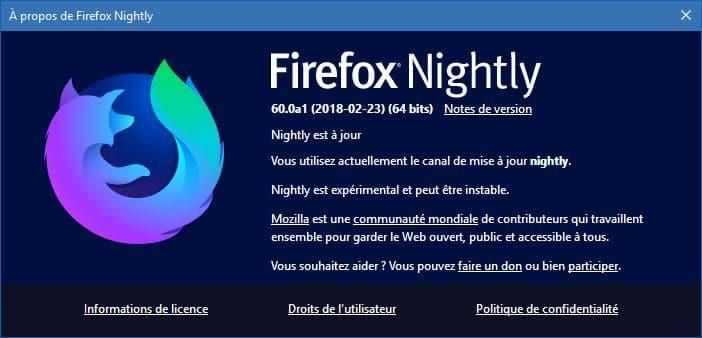 Firefox 60 Nightly, sospc.name
