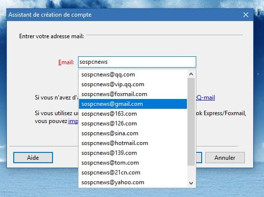 Foxmail PARAMÉTRAGE TUTORIEL SOSPC.name