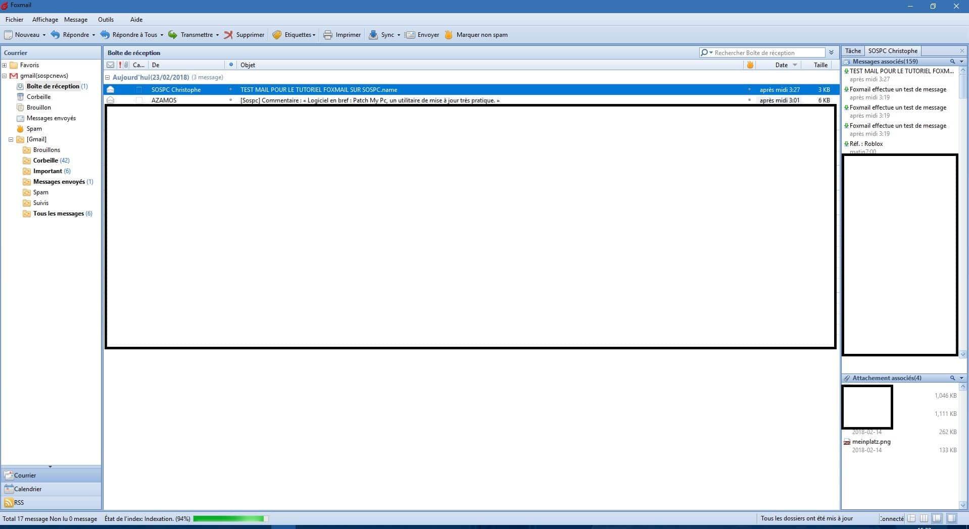 Foxmail logiciel de messagerie gratuit