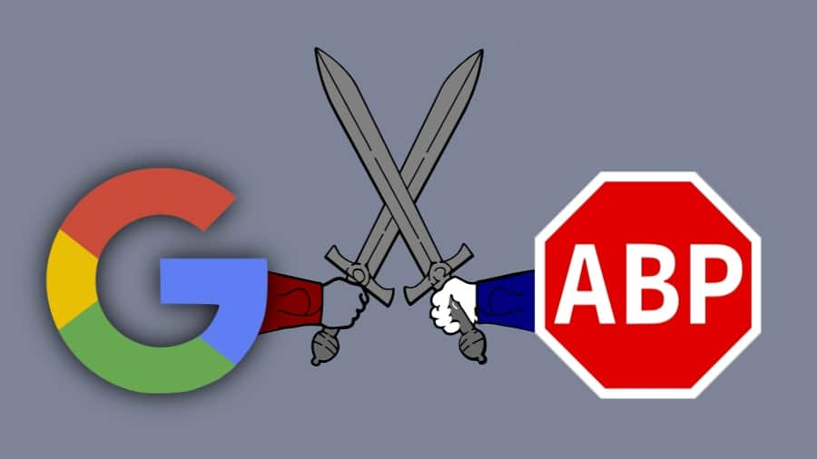bloqueur google chrome contre adblock